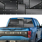 Rear Window Graphic Decal Black Metal Perforated Vinyl Tint