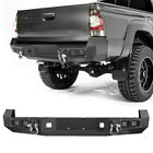 Front Rear Bumper Led Lights D-rings Winch Seat For Toyota Tacoma 2005-2015