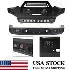 Front Rear Bumper For Toyota Tacoma 2005-2015 W Led Lights Guard Steel Winch