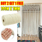 3mm200m Macrame Cotton Cord For Wall Hanging Dream Catcher Cotton Rope Tw