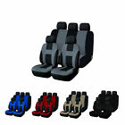 Car Seat Covers Full Set Front Back Universal Protector Fors Car Truck Suv Van