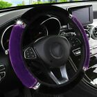 Universal 37-38cm Soft Car Steering Wheel Cover Interior Accessories Car-styling