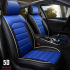Universal Car Front Seat Covers Full Protector Pu Leather Breathable Cushion Pad