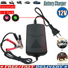 12v Car Battery Maintainer Charger Tender Auto Trickle Motorcycle Boat Universal