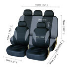 Universal Car Seat Covers Front Rear Car Protector Headrests For Truck Suv Van