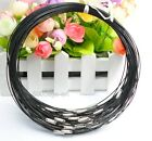 2050100pcs Stainless Wire Cable 1mm Steel Chain Cord Necklace Charms