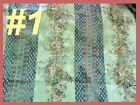 Fabric Victorian Rose Stripe Mauve Upholstery Tapestry Drape Pillow Bed Tote Bty