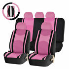 22pc Premium Mesh Steering Wheel Seat Covers 405060 Split Bench Cover For Suv