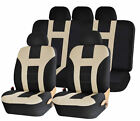 Uaa Universal Premium Polyester Suv Double Stitched Seat Bench Cover Set