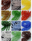 Free Shipping 3468mm Crystal Diamond Beads Loose Glass Crystal Bicone Beads