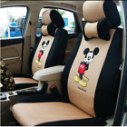2017 New Hot Sell Cute 12 Pcs Mickey Universal Car Seat Covers