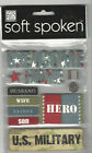 U Choose Assorted Soft Spoken Patriotic 3d Stickers American July 4th Fireworks
