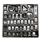 Domestic Sewing Machine Presser Foot Feet Tool Kit For Brother Janome Singer
