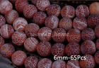 Wholesale Dream Fire Dragon Veins Agate Round Loose Beads Diy Jewelry Making New