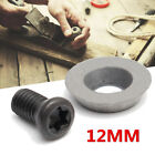 1510pcs 12mm Round Carbide Insert Cutter With Screws For Ci3 Wood Turning Tool