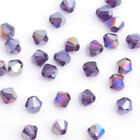 10050pcs Mixed Color Faceted Glass Crystal Beads Loose Bicone Spacer Bead 6mm