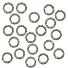 Soldered Closed Jewelry Jump Rings Links Connectors Silver Gold 5mm-24mm U-pick