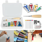 Bias Tape Fabric Maker Kit Set For Sewing Quilting Awl And Binder Foot Case Tool