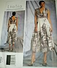 Vogue Lialia 1402 Lined Fitted Bodice Darts Dress Size 6-14  Uc