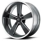 20 Inch 20x8.5 American Racing Vn472 2 Piece Black Milled Wheel Rim Blank 0