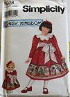 Simplicity Daisy Kingdom Girls 3-4-5-6 Dress Doll Clothes Pattern Your Choice Ff