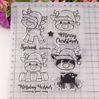 Christmas Silicone Clear Stamp Transparent Rubber Stamps Diy Scrapbooking Craft