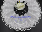 Embroidery Floral Cotton Lace Trim Ribbon Wedding Fabric Sewing 15cm Wide Fl289