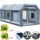 Vevor Inflatable Spray Booth Paint Tent Car Paint Capacious Filtersystem2blowers