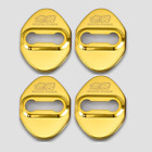 4pcs Mugen Glossy Color Car Door Lock Protective Cover Case Badge Decal Sticker