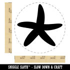 Starfish Solid Tropical Beach Rubber Stamp For Stamping Crafting Planners