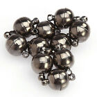 10pcs 6mm8mm Round Ball Magnetic Clasps All Match Diy Necklace Jewelry Tools