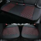 Breathable Pu Leather Auto Car Front Back Seat Cushion Cover Pad Mat Protector