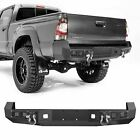 Steel Front Rear Bumper Wled Lights Winch Plate D-ings Fit Toyota Tacoma 05-15