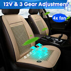 12v Cooling Car Seat Cushion Cover Air Ventilated Fan Conditioned Cooler Pa