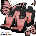 Universal Auto Seat Covers Car Truck Suv Van Protectors Polyester Front Rear Row