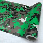 Digital Camouflage Printed Vinyl Wrapping Motorcycle Scooter Sticker Wrap Car