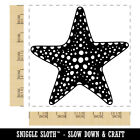 Detailed Starfish Ocean Beach Square Rubber Stamp For Stamping Crafting