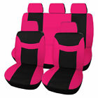 Full Set Car Seat Covers Universal Fit For Auto Car Sedan Suv Easy To Install
