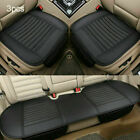 Universal Pu Leather Car Seat Cover Front Rear Cushion Pad Protector Chair Mat