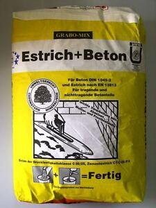 0 11 euro kg estrichbeton estrich beton betonm rtel 40. Black Bedroom Furniture Sets. Home Design Ideas