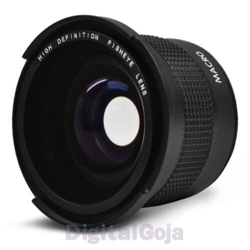 0.35x Super Fisheye Wide Angle Lens for 58 MM Canon Rebel T3i T3 T2i T1i 18-55mm in Cameras & Photo, Lenses & Filters, Lenses | eBay