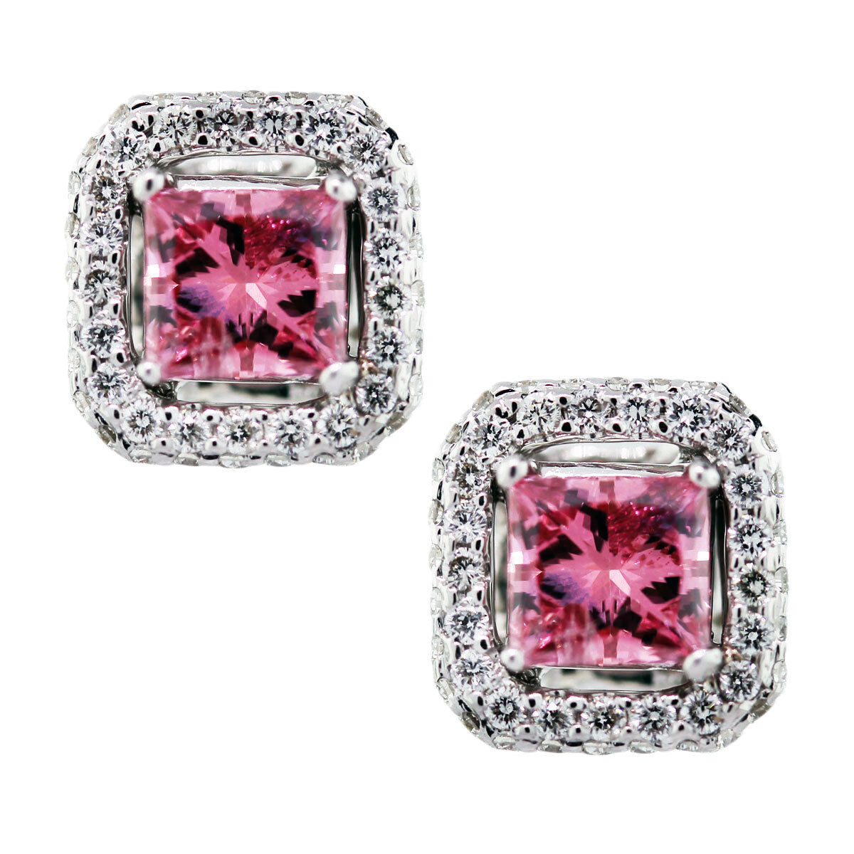 pink diamond earrings, pink diamonds, pink diamonds boca raton