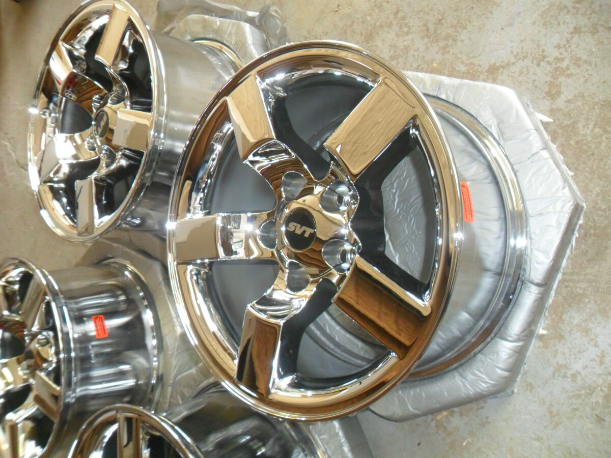 "01 02 03 04 00 4 18"" Ford F 150 Lightning Chrome Wheels Rims Expedition 99"
