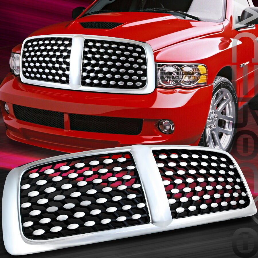 02 03 05 Dodge RAM Pickup 1500 DNA Chrome Grille Grill