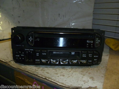 02 04 Dodge Intrepid Sebring CD Cassette Radio Ad