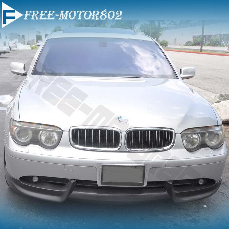 For 0205 BMW 7Series E65 E66 750 760 Front Bumper Lip Spoiler