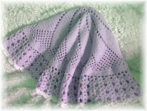 023 JESSICA ROUND Baby Afghan Crochet Pattern by Rebecca Leigh   44