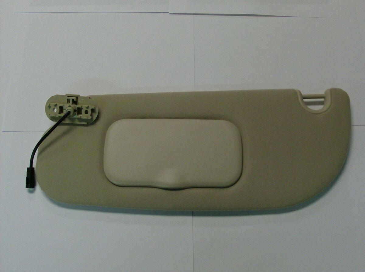 03 04 05 Explorer Genuine Ford Parts LH Driver's Tan Parchment Sun Visor New