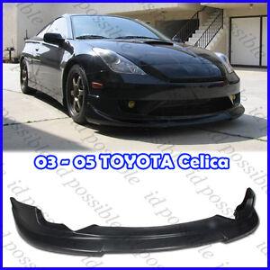03 05 Toyota Celica C1 Style Front Bumper Lip Kit PU JDM TRD T230 VVTI ...