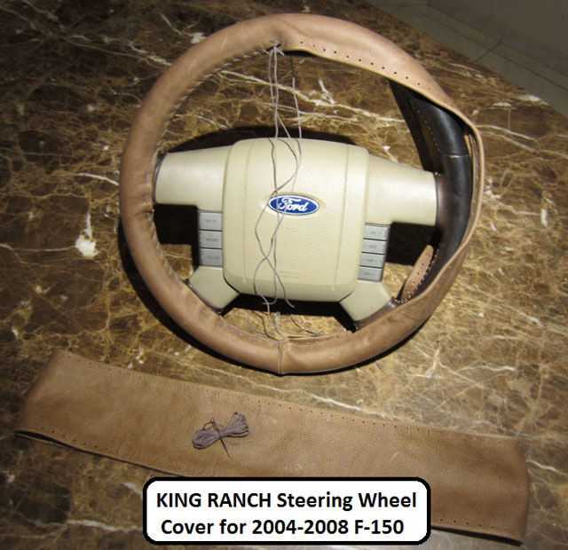 04 05 06 07 08 Ford F150 SuperCrew CREW King Ranch Leather Steering